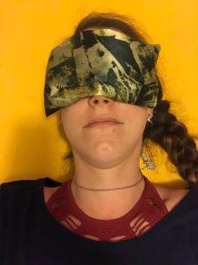 yoga eye pillow handmade eye mask lavender pillow