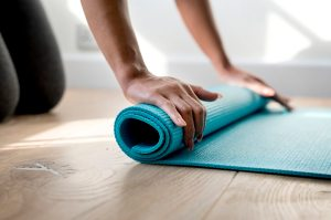 yoga mat, take your practice off the mat