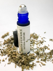 roll on handmade natural perfume aromatherapy with lavender patchouli essential oil